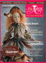 Quarterly E-Magazine A for Artistic, June 2015 issue with Ankie Daanen