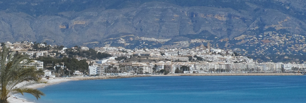 Overlooking Altea - Private Class Ankie Daanen