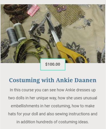Costuming with Ankie Daanen