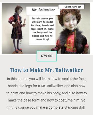 How to make Mr. Ballwalker