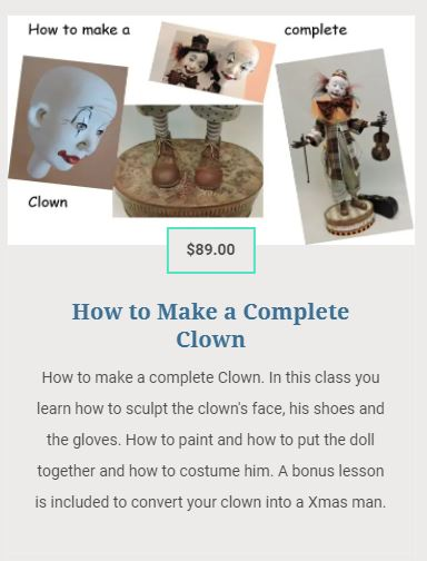 How to make a complete clown