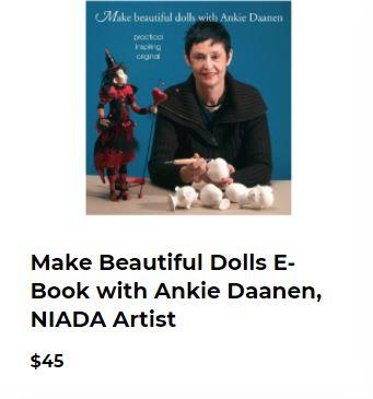 Make Beautiful Dolls (E-book) - Ankie Daanen, Niada Artist