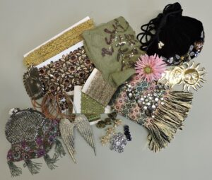 Crazy unique goodybags with all kinds of interesting materials : Prices from $100,- up to $150,-